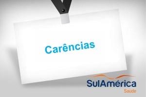 Carências Sul America Saúde