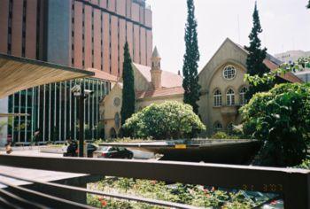 Foto da frente do hospital Santa Catarina no novo centro de São Paulo
