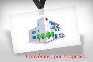 Plano de saude por Hospital: Relatório de convenios