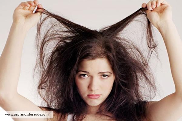 Principais causas da queda de cabelo!